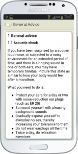 Tinnitus Relief Android