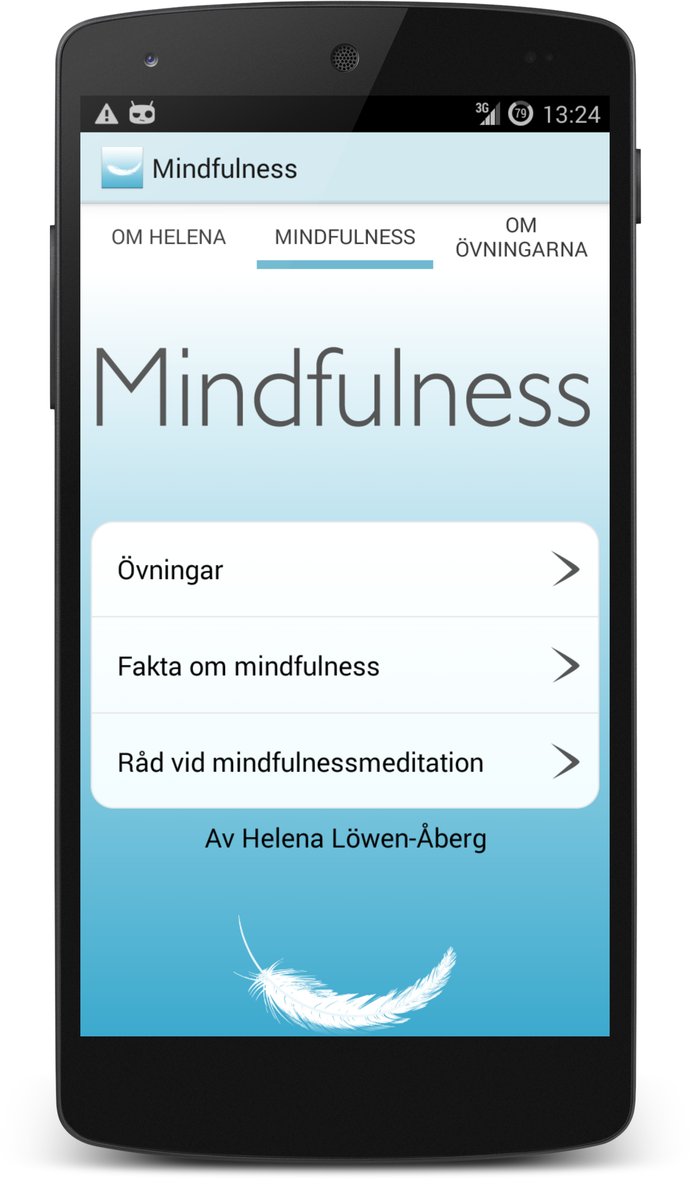 iOS Mindfulness